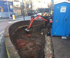 SuDS systems designed to manage surface water drainage