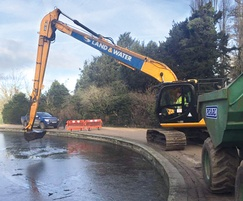 Desilting and removal of vegetation