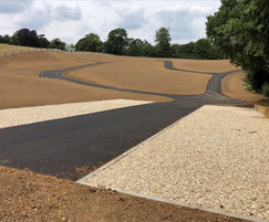 The entire field was remodelled and services installed