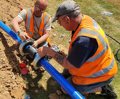 Water pipe connections - Hertfordshire