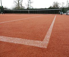 Synthetic Clay Surfacing For Tennis Courts Refurbishment Playrite