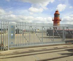 Pro-glide automatic cantilevered sliding gate - port