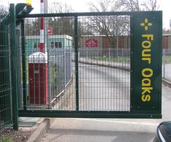 Pro-glide cantilevered sliding gate - primary school