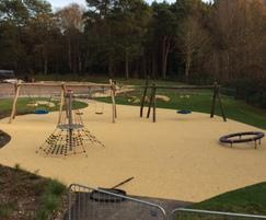 Playground equipment surfacing