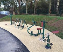 Outdoor Gym Equipment Surfacing