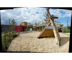 IGC Adventure Playground Panorama with Twig-wam