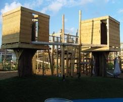 IGC Adventure Playground towers