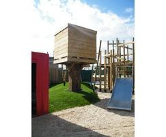 IGC Adventure Playground tower and slide