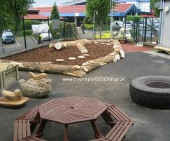 Play space, Colindale Nursery, North London