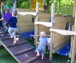 Play garden design and build - private nursery