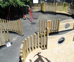 Play park, Crabtree Fields, Camden