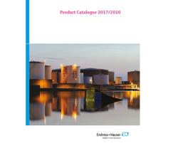 Endress+Hauser: Endress+Hauser product catalogue 2017/2018 for download