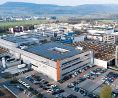 Endress+Hauser's new facility in Reinach