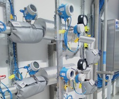 TCU temperature and flow monitoring system