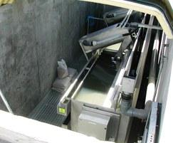 S-300 filter in dry well with sliding GRP cover