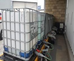 IBC connected skid