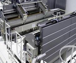 Toveko sand filters in stainless steel