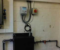 Intake protection pH monitoring