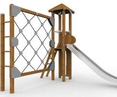 Galopin Natura climbing net and tower T40B-N