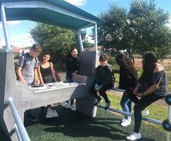 Ollerton interactive playground - Fono DJ Booth