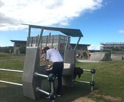Ollerton interactive playground - Fono DJ Booth & Skate