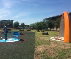 Ollerton interactive playground - Sona Dance Arch