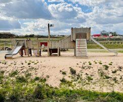 Jupiter Play: Europa Way, Myton Green - the Creme de la Creme of parks