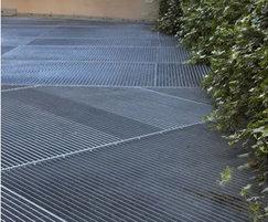 Bespoke flooring grilles: Langham Hotel, London