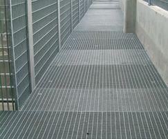 Mesh walkway, Manchester Transport Interchange