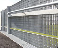 Type NP steel balustrade infill