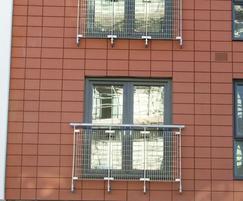 Type N balcony infills