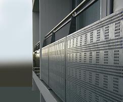 Pressure-welded balustrades