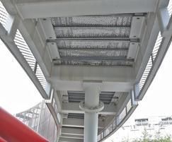 ArcelorMittal Orbit - walkways, stair treads/ landings