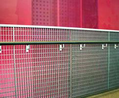 Panels for cantilevered balustrade, Curve Theatre