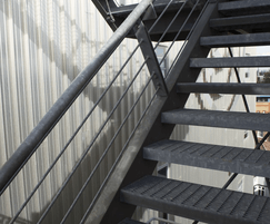 Stair Treads / Landings, Type SP, Galvanised