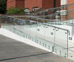 BA Systems: Balustrading and handrails help modernise library