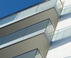 B40 structural glass balustrade system