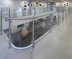 Balustrade and handrails for school redevelopment