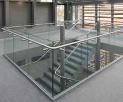 Balustrade and handrails, South Hampstead High School