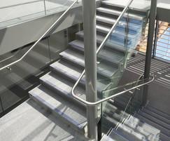 Modern balustrade and handrails