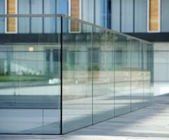B40 frameless glass balustrading,  Woolwich Central