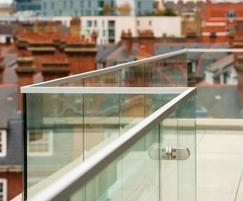 B40 Frameless Glass Balustrade System