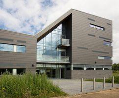 New business hub with B40 Frameless Glass balustrade