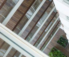 B20 and B30 balustrade systems used in apartment block