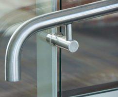 Handrail in apartment block
