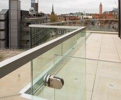 B40 Frameless Glass System