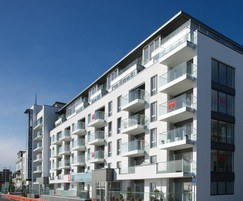 New beach hotel and apartments, Worthing