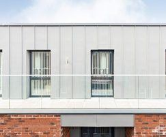 Glass balustrade solution for 6-storey apartments