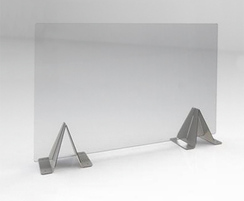 Desk top Perspex screen
