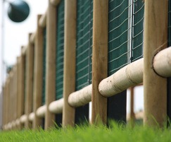 M&M Timber CNC scalloped fencing at Goodwood Race Track